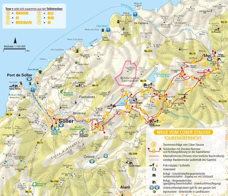 Wandern Auf Mallorca Wanderfuhrer Inkl Wanderkarte